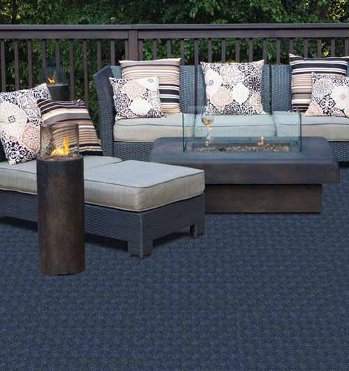 textured patio carpet